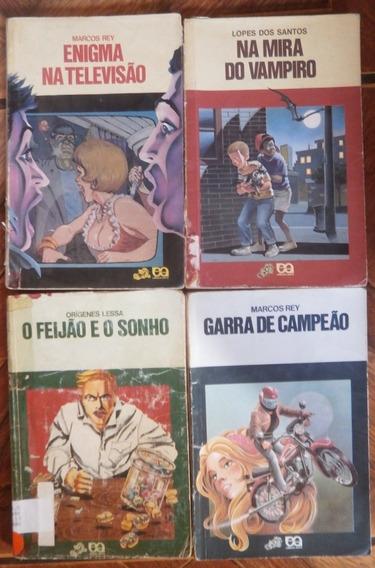 Lote Com 04 Livros Coleção Vagalume
