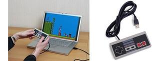 Control Nes Usb Para Jugar En El Tv Box Tablet Laptop Cel
