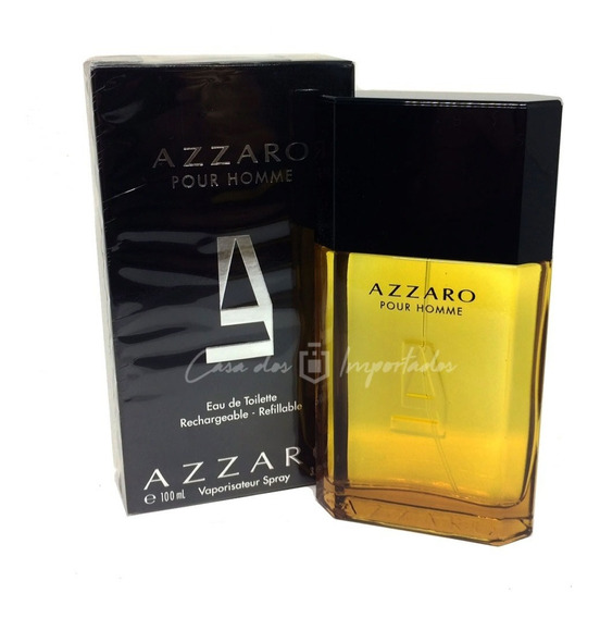 Azzaro 100ml Masculino | Original + Amostra De Brinde