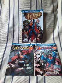 Superman Action Comics 1-2-3 Universo Renascimento