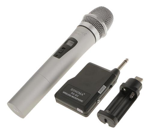 Microfone Profissional Para Tecnologia Sem Fio Fm Pc-k3 Mic