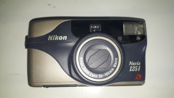 Câmera Fotográfica Nikon Nuvis 125i Sem Teste