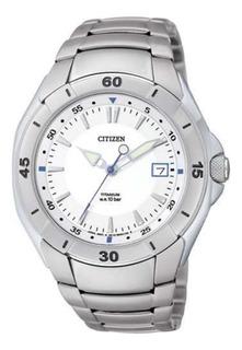 Reloj Citizen Titanium Bk241051a Hombre Agente Oficial