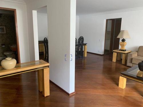 Apartamento 173m², 3 Dormitorios, 1 Suíte, 2 Vagas - Paraíso - Ap11108