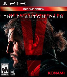 Metal Gear Solid V Phantom Pain Ps3 Digital Entrega Inmediat