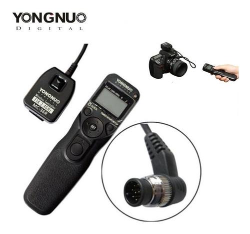 Disparador Yongnuo Mc-36r N1 Com Wiireless Timer Lapse