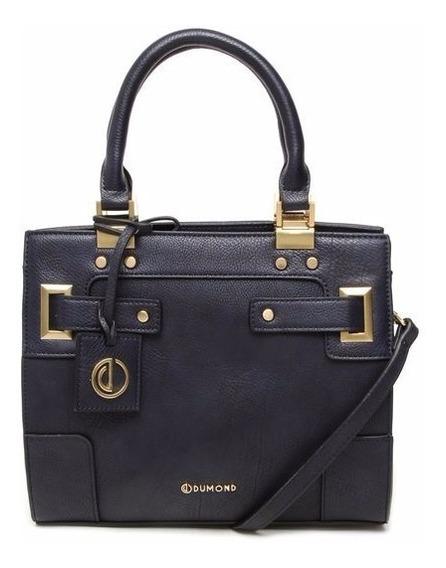 Bolsa Feminina Dumond Mini Lady Like 484527 Preta Ou Azul