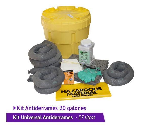 Kit Antiderrames De 20 Galones Universal