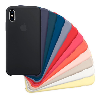 Funda Silicone Case Para iPhone 6 6s 7 8 Plus X Xs Xr Xs Max
