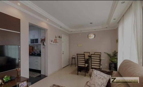 Apartamento Com 3 Dormitórios À Venda, 68 M² Por R$ 380.000 - Vila Das Bandeiras - Guarulhos/sp - Ap0987