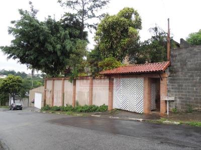 Poá - Vila Áurea - Casa Térrea, Com 4 Dormitórios, 3 Suítes, 8 Vagas Próxima A Fonte Áurea. - 985