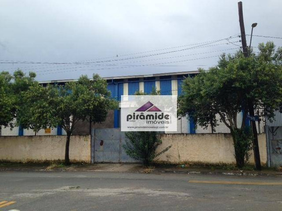 Galpão Comercial Para Locação, Conjunto Residencial Galo Branco, São José Dos Campos - Ga0015. - Ga0015