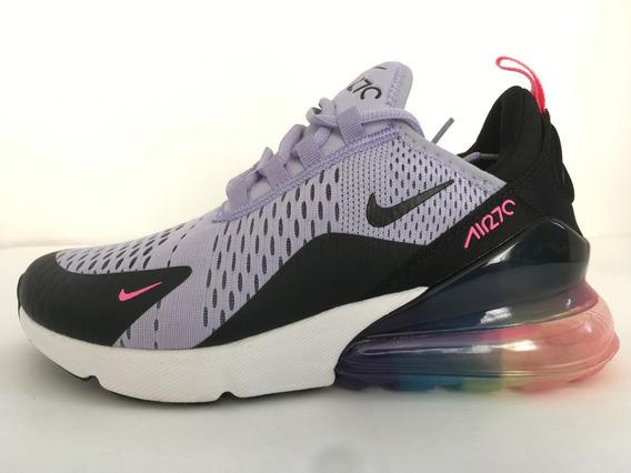 Nike Air Max 270 Negro/lavanda