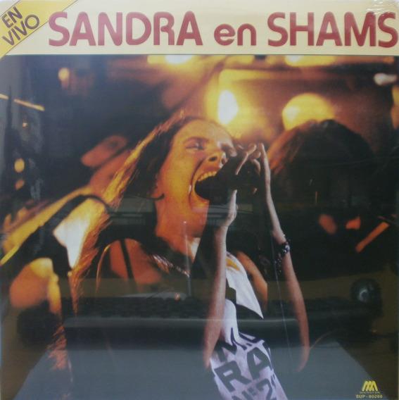 Mihanovich Sandra Sandra En Shams En Vivo Lp Vinilo Nuevo