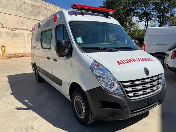 Ambulância Uti Renault Master L2h2 2020/2021