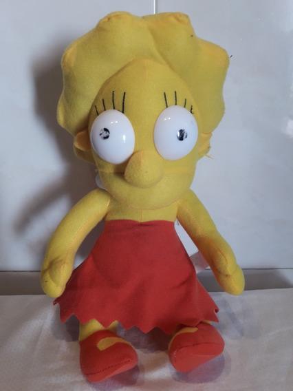 Pelúcia Lisa Simpsons 37 Cm Altura R$ 60,00 + Frete