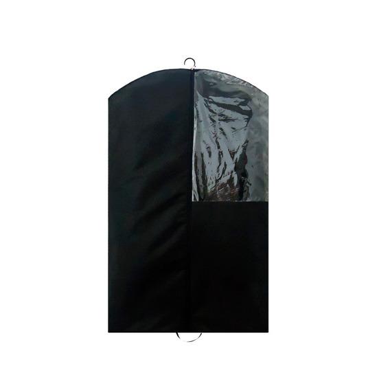 Kit 20 Capas Para Terno Com Zíper E Visor 1/4 Alta Qualidade