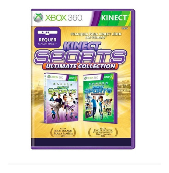 Kinect Sports Ultimate Collection - Xbox 360 - Usado