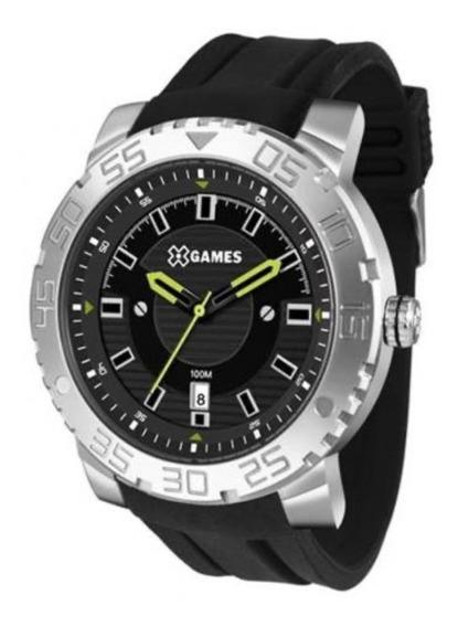 Relógio X-games Xmsp1010 Prata C/ Calendário
