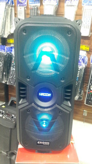 Parlante Bluetooth Crown Mustang Djs1000 Bt