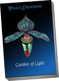 Livro Garden Of Light- Paula Crevoshay