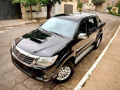 Toyota Hilux Srv Top 3.0 Diesel 4x4 2014 Picape Automática