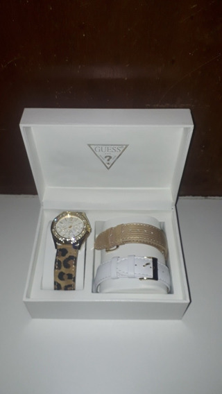 Relógio Guess Interchangeable Animal Print