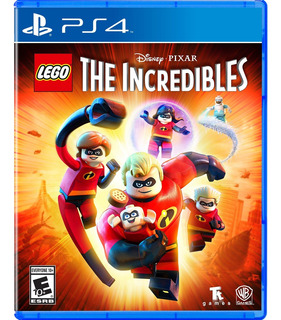 Lego The Incredibles Us Ps4