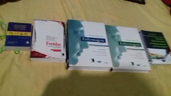 Kit De Livros Para Curso De Enfermagem Ou Técnico
