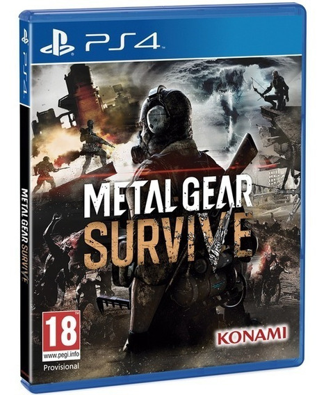 Jogo Metal Gear Survive Playstation 4 Midia Fisica Portugues