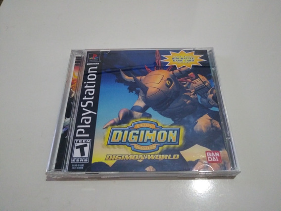 Digimon World - Psone Patch Parcialmente Legendado Português