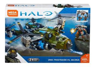 Mega Construx Halo Unsc Frostraven Decimus Helicoptero 1489