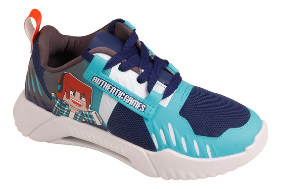 Tênis Infantil Masculino Grendene Authentic Games Mania 2223