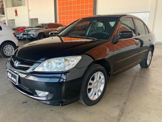 Honda Civic 2006 1.7 Lx Aut. 4p Relíquia Todo Original