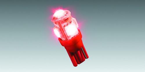 Lâmpada Do Painel Para Moto Com 5 Leds - Vermelha