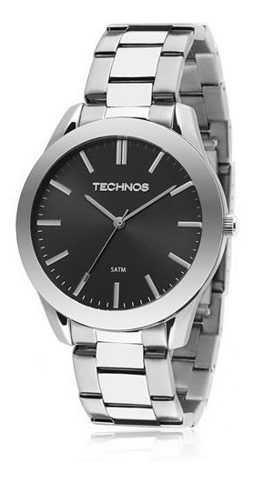 Relógio Masculino Technos Prata 2035lrz/1p Esportivo Aço
