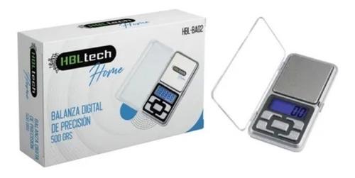 Imagen 1 de 5 de Balanza Digital De Precision 500g / 0.1g Lcd C/ Luz Portable