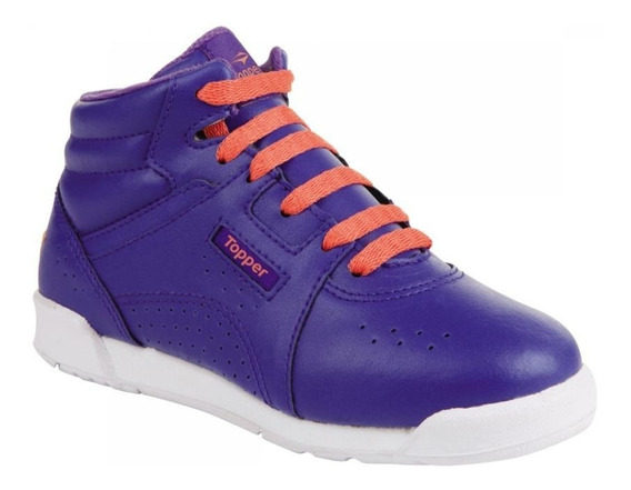 Zapatillas Topper Aerobas Mid Pop Kids