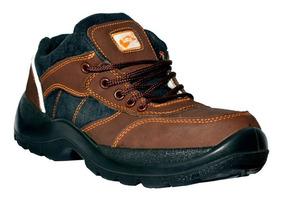 Botas De Seguridad Saga 1051 Mod. Supervisor Zapato Marrón