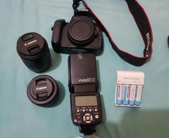 Canon T5i + Kit Fotográfico