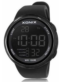 Relógio Xonix Esportivo Masculino Natação Digital Wr100m Led
