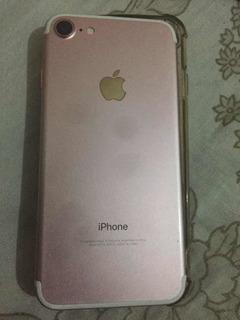 iPhone 7 Rose 128gb Sem Rede Blacklist