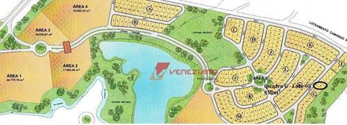 Terreno À Venda, 450 M² Por R$ 150.000,00 - Águas Do Campo - São Pedro/sp - Te0643