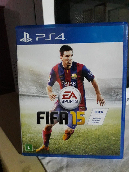 Fifa 2015 Para Playstation 4 Frete Carta Registrada