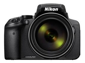 Nikon P900 83x Vr, 16.mp Gps+wifi+32gb+bolsa, Tripé 37 Op Sj
