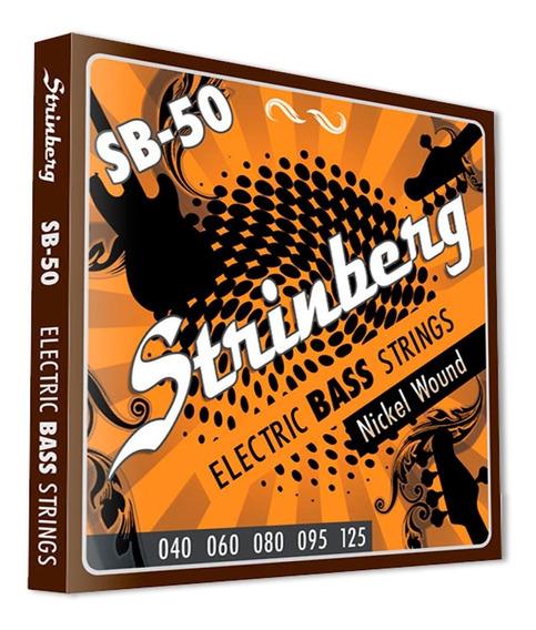 Encordoamento Contra Baixo Strinberg 5 Cordas 0.40 Sb-50