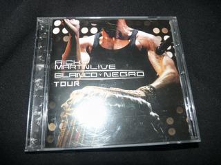 Ricky Martin Live Blanco Y Negro Tour Cd Pop