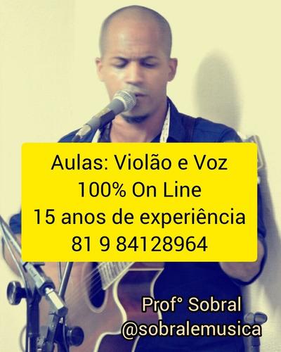 Imagem 1 de 1 de Aprenda Violão E Voz  (aulas)