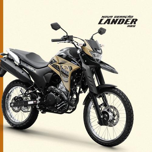 Lander 250 Abs 2021 Yamaha 0km Beje