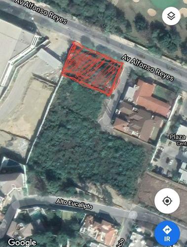 Imagen 1 de 5 de Terreno Venta Hacienda San Agustin Sobre Alfonso Reyes San Pedro Garza Garcia Nl   Terreno Residencial En Venta